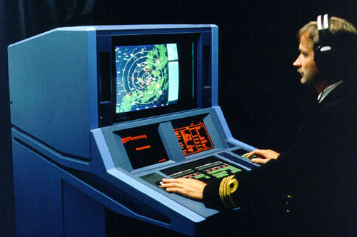 Tactical display console